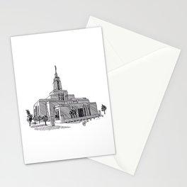 Draper Utah LDS Temple Stationery Cards