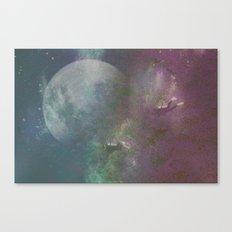 Sea,Moon Canvas Print