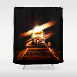 Hail To The King Shower Curtain