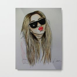Mary-Kate Olsen Metal Print