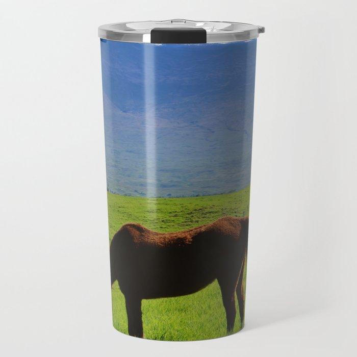 Kamuela Countryside with Mauna Kea Travel Mug