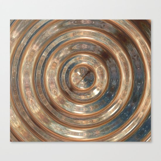 Space Swirl no1 Canvas Print
