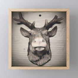 #deer Framed Mini Art Print