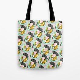 Ramen Cats Pattern Tote Bag