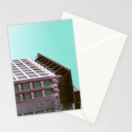 Building Side on Lomochrome Film Stationery Cards