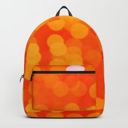 Orange Disco Fever Backpack
