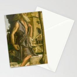 Bartolomeo Montagna - Saint Jerome (1482) Stationery Cards