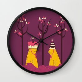 Do You Like My Hat? Wall Clock