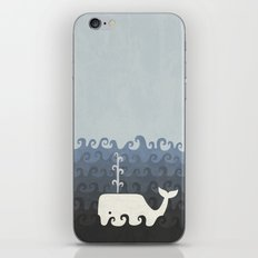 There She Blows iPhone & iPod Skin