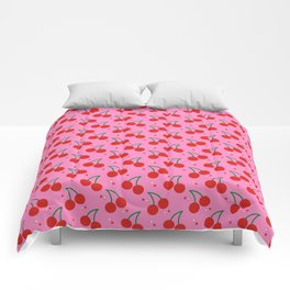 Cherry Bomb Pattern Comforters