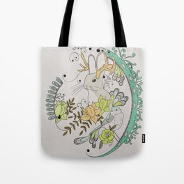 Journey to the Center of Nothing Tote Bag