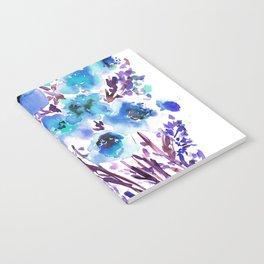 Bouquet Blue Notebook
