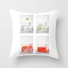 Capturing a motion sequence Throw Pillow
