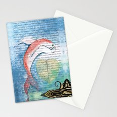 Fish of Far-Sightedness Stationery Cards