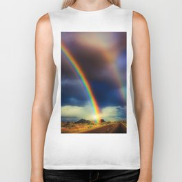 Blinded By Rainbows Biker Tank