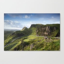 The Road to the Quiraing II Canvas Print