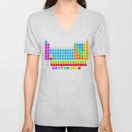 Periodic Table Mendeleev Unisex V-Neck
