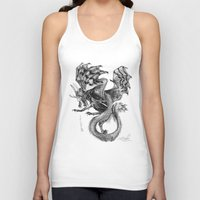 tomb raider Tank Tops featuring Raider by Rosanna P. Brost