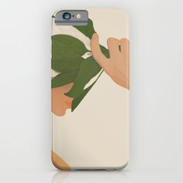 One with Nature iPhone Case