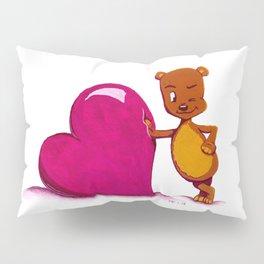 Teddy Valentine #2 Pillow Sham
