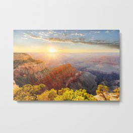 Sunset at Grand Canyon Metal Print