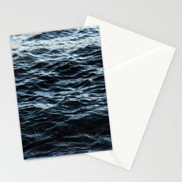Sea Water Surface Texture 2 Stationery Cards