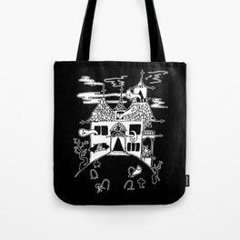 ▴ haunted house ▴ Tote Bag