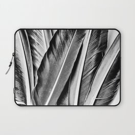 Feather Details Laptop Sleeve