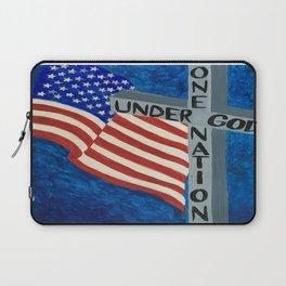 One Nation Under God Laptop Sleeve