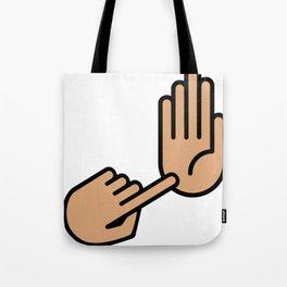 Kalamazoo Michigan Hand Map Tote Bag