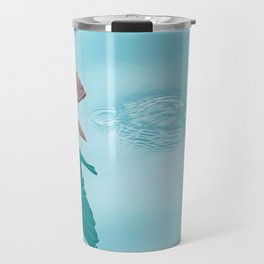 Storm petrel dancing on the ocean Travel Mug
