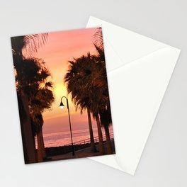 Sunset 1: streetlight Stationery Cards