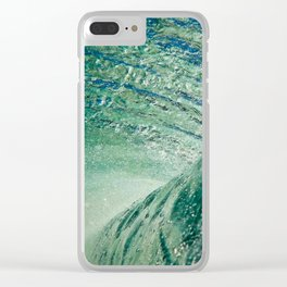 Under Ocean Wave Clear iPhone Case