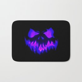 Blue Demon Nightmare Bath Mat
