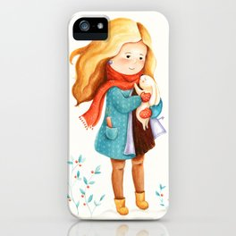 I'll keep you warm in winter iPhone Case