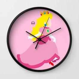 Princess Peach Deluxe Wall Clock