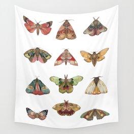Collector: Moths // Jess Polanshek Wall Tapestry