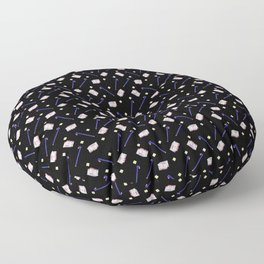 Flowers Crowbar and Sixpack Floor Pillow