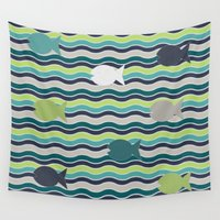 under the sea Wall Tapestries featuring Under The Sea by LLL Creations