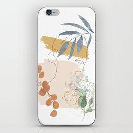 Line in Nature II iPhone Skin