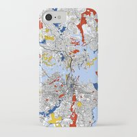 sydney iPhone & iPod Cases featuring Sydney by Mondrian Maps