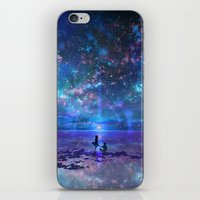 discount iPhone & iPod Skins featuring Ocean, Stars, Sky, and You by Melissa Hui Wang (muddymelly)