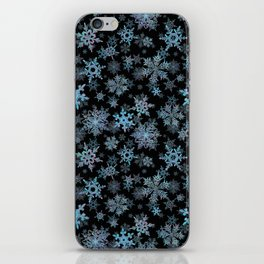 """""""Embroidered"""" Snowflakes iPhone Skin"""