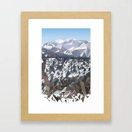 Fragmented Landscape 2 Framed Art Print