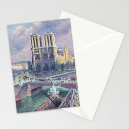 Notre-Dame de Paris by Maximilien Luce, 1900 Stationery Cards