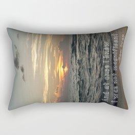 Bon Iver - Holocene Rectangular Pillow