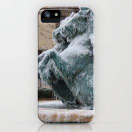 Ice Mares iPhone Case