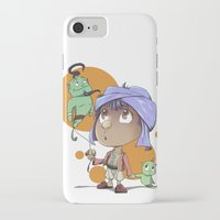 aladdin iPhone & iPod Cases featuring Cute Aladdin by EY Cartoons