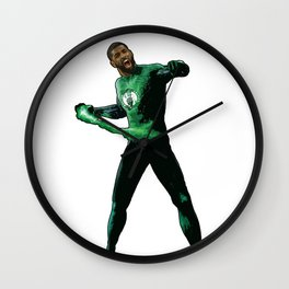 "Kyrie Boston Green Lantern Irving "" Uncle Drew Wall Clock"