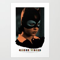 ghost world Art Prints featuring Ghost World movie poster by Adam Juresko